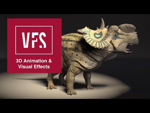 Creature Modeling/Surfacing Reel - Vancouver Film School (VFS)