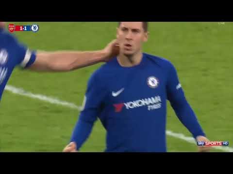 Chelsea vs Arsenal 2-2  Ngoại hạng Anh - vòng 22 - 3/1/2018