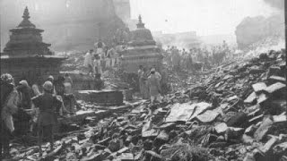 12,000 Killed in Nepal & Bihar India 8.0 Earthquake 1934 Footage