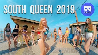 VR180 3D. South Queen 2019. Swimsuits bikini dancing