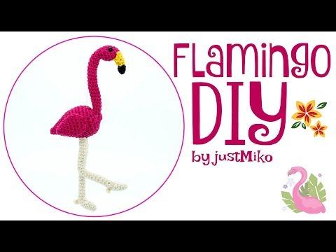 Häkelanleitung Funny Flamingo - WollLolli® | 360x480