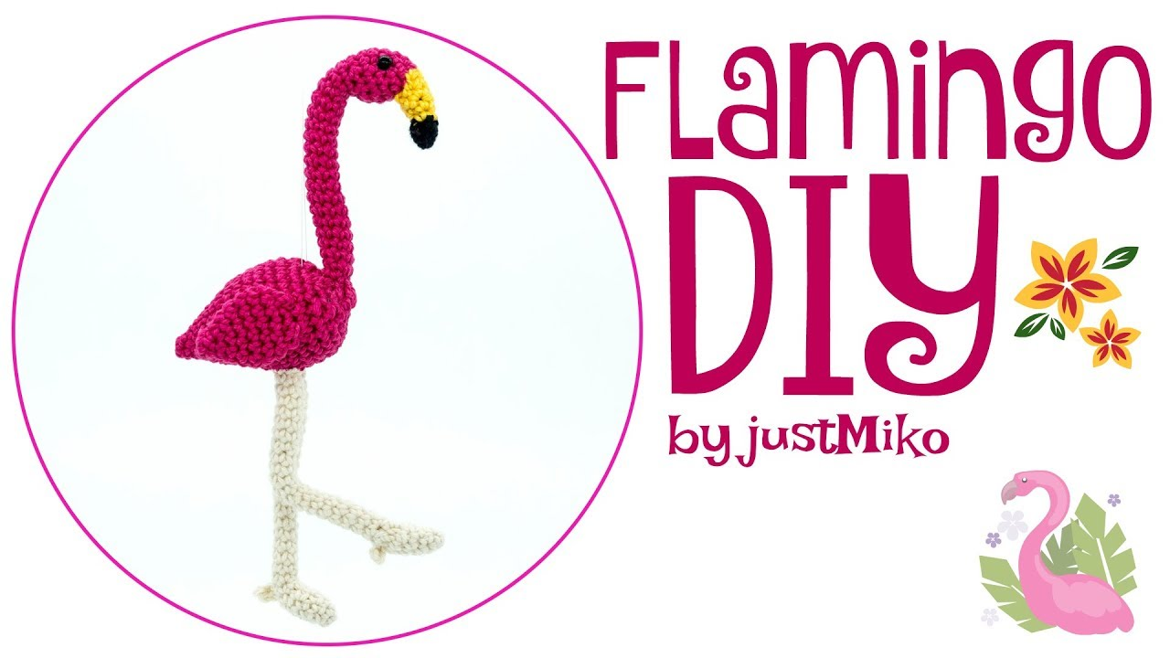 Flamingo Häkeln Do It Yourself Amigurumi Youtube