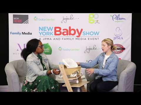 Yoli's Green Living and Stokke Baby Chair