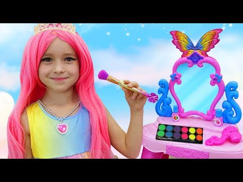 Sofia Pretend Play Мakeup toys | Compilation Funny Stories With Princesses