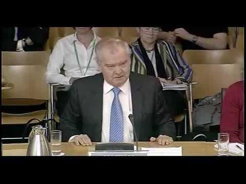 Professor Tom Devine speaking on Crown Office sectarian data analysis