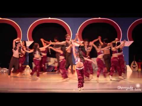 Sherezade danza con causa/ ACADEMIA DE DANZA ÁRABE RASHIKA