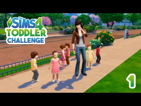 The Sims 4 Seven Toddler Challenge - Stranger Things Edition - Part 1