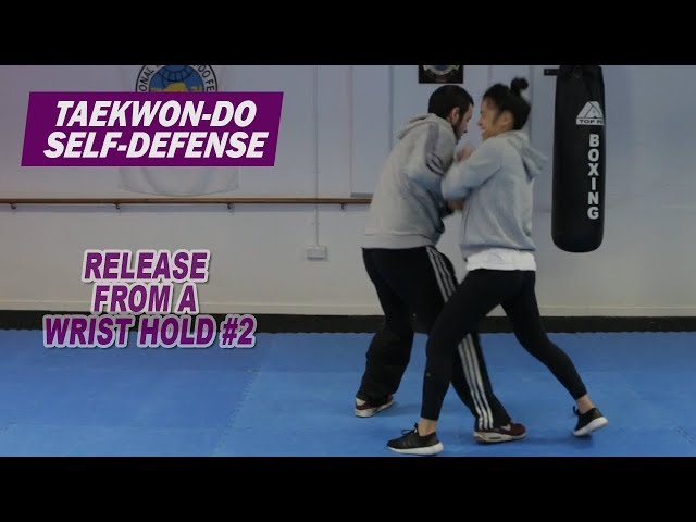 Taekwon-Do Self-Defense: Release from a wrist hold #2
