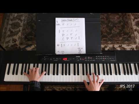 How to play a Green Onions cover using a Nashville chord chart Tutorial  Booker T and The M.G.'s