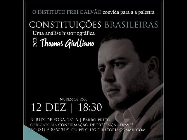 Considerações sobre as constituições brasileiras