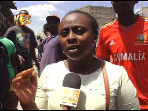 Hawkers engage Traders in day long running battles in Eastleigh