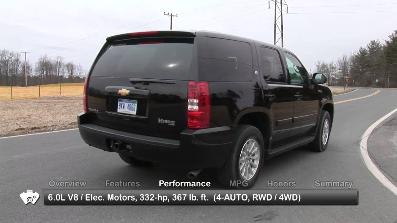 2010 Chevrolet Tahoe Hybrid Used Car Report