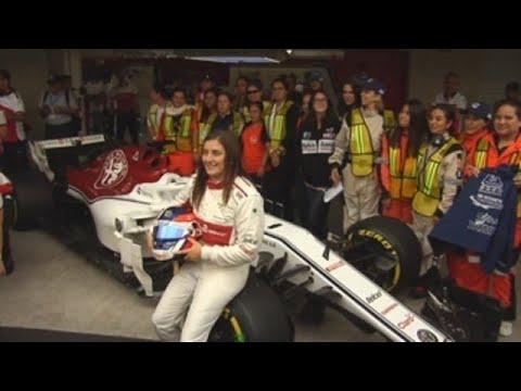 Tatiana Calderón: Subirme a un Fórmula Uno ha sido como jugar 'play station'