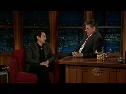 Late Late Show with Craig Ferguson 4/6/2012 Laura Linney, Grant Imahara