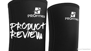 ProFitness Lifting Elbow Sleeves - 5mm Thick Neoprene Elbow Support/Compression Braces - Review