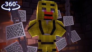 360° Five Nights At Freddy's - CHICA VISION - Minecraft 360° Video thumbnail