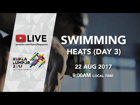 Swimming Heats (Day 3) | 29th SEA Games 2017