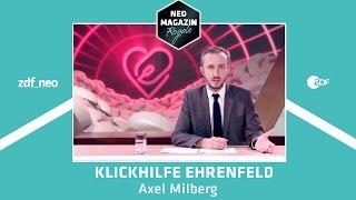 Klickhilfe Ehrenfeld für Axel Milberg | NEO MAGAZIN ROYALE mit Jan Böhmermann - ZDFneo
