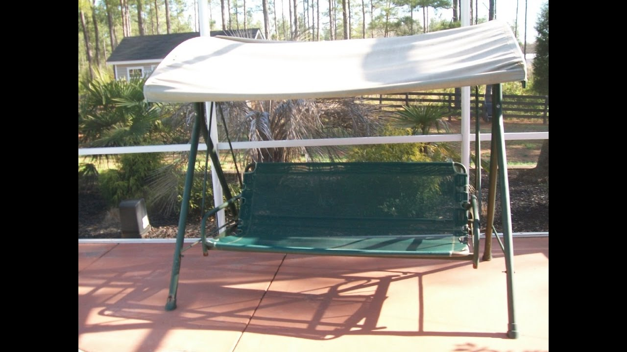 Boscovs Patio Swing Cushions, Seat Support and Canopy ...