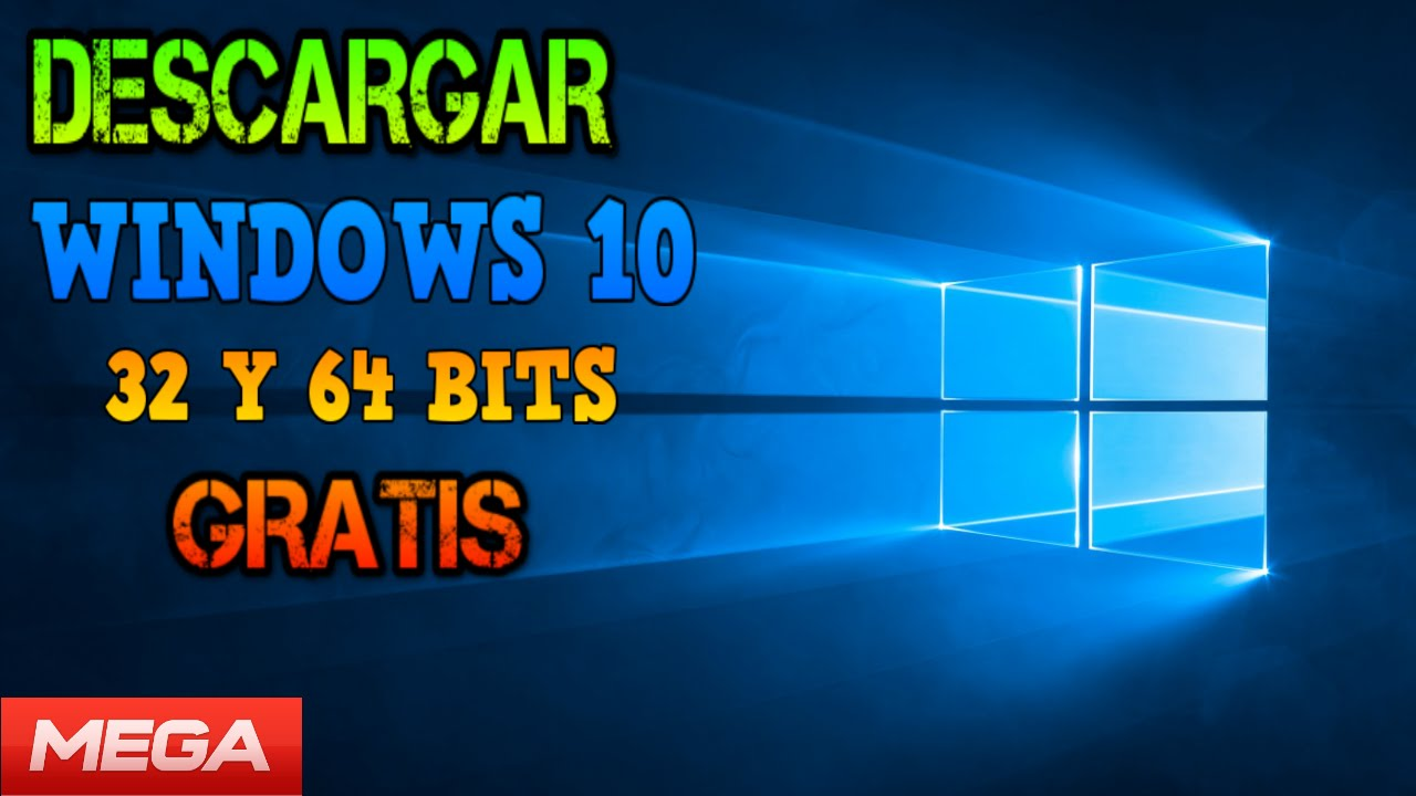Descargar Windows 10 Pro Final 32 Y 64 Bits Activador Mega Youtube