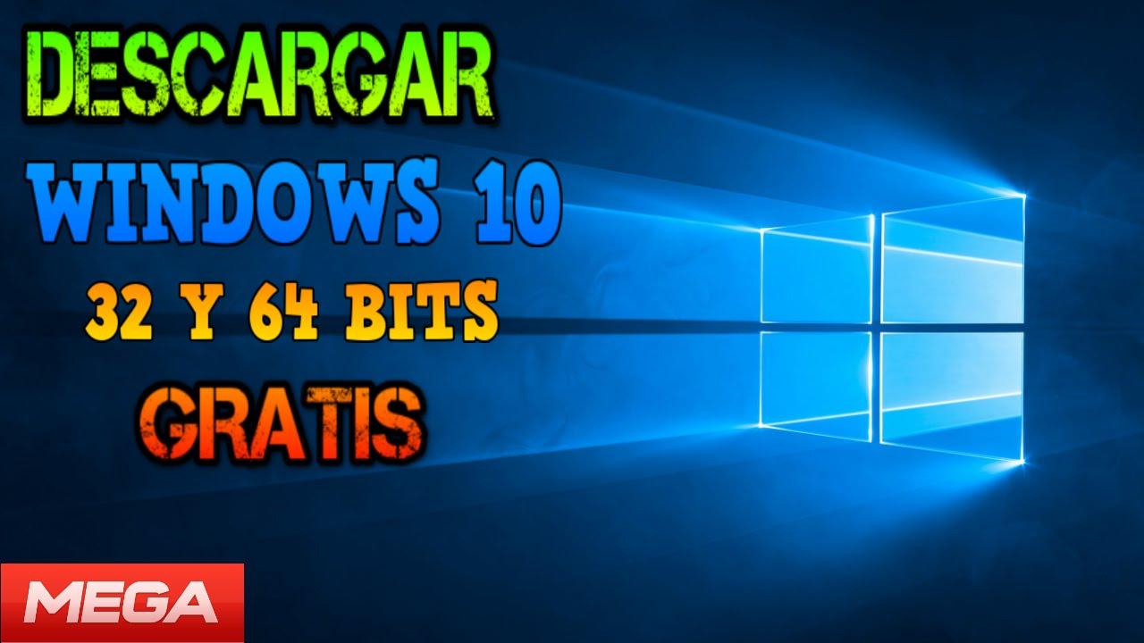 descargar windows 10 gratis en español 64 bits full