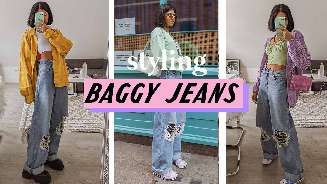 10 Ways To Style Baggy Jeans Youtube Customize your avatar with the aesthetics~jeans♥ and millions of other items. 10 ways to style baggy jeans