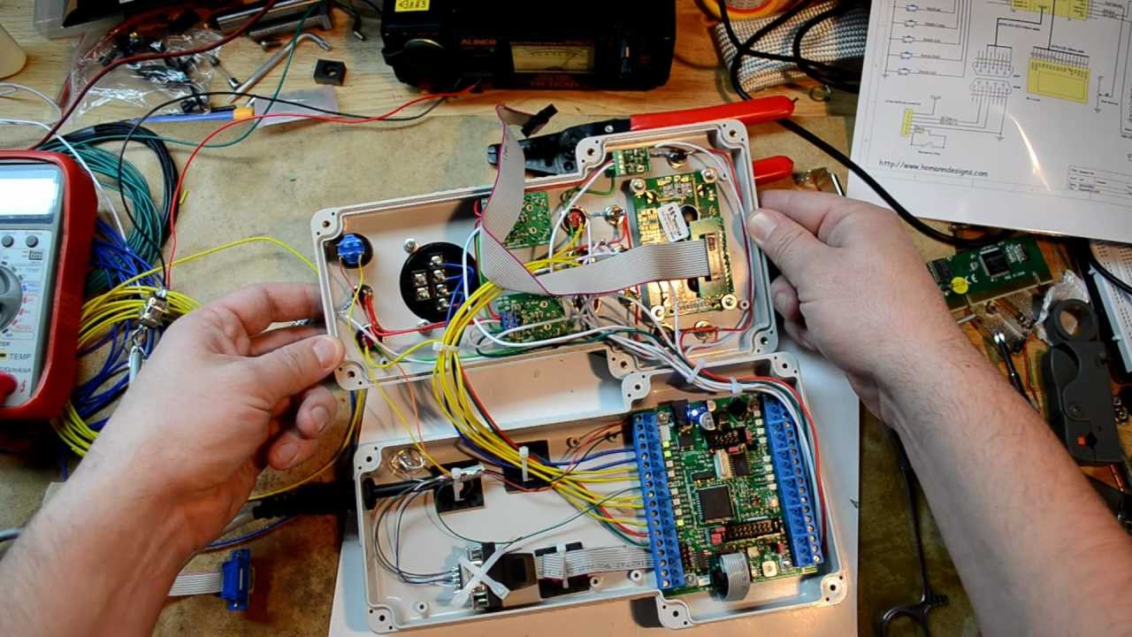 Mp 03 cnc pendant kit part 2 assembly youtube aloadofball Image collections