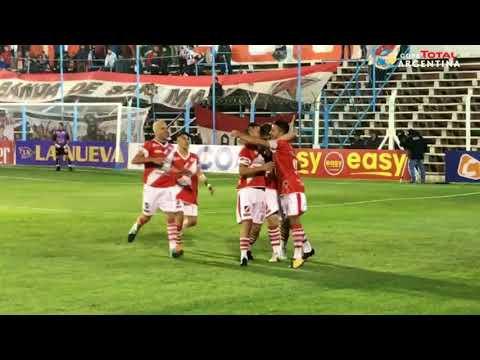 El gol de Walter García para Chacarita 0 - Deportivo Maipú 3