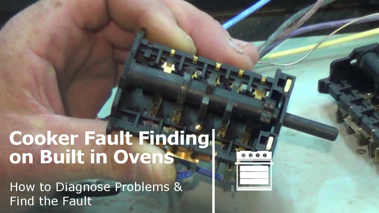 How To Diagnose A Fault On A Cooker Or Oven Built In