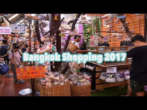 Bangkok Shopping 2017(Pratunam,Platinum Mall,Hua Mum Night Market and Chatuchak)