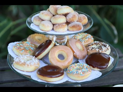 How to make Homemade Krispy Kreme Style Baked Donuts Doughnuts Recipe ...