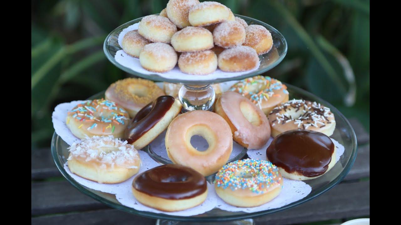 How to make Homemade Krispy Kreme Style Baked Donuts ...