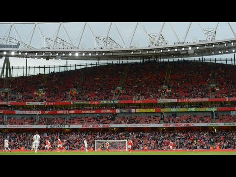 Arsene Wenger On The Empty Seats At The Emirates