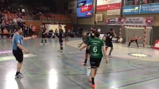 2. HBL 2016/2017 34. Spieltag  TuS N-Lübbecke vs. SG Leutershausen 33:17 (17:7) Schlußsequenz 1