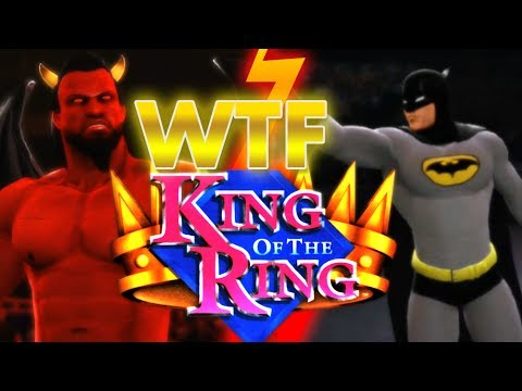 WWE 13: Satan vs Batman WTF King of the Ring 3rd Rd - YouTube