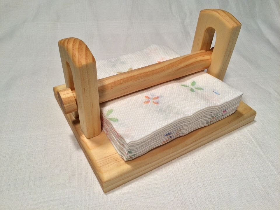 Make A Napkin Holder With Hand Tools 7 Steps With Pictures
