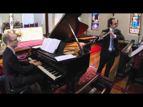 Maron Khoury, Flute;   Dimitri Dover, piano   Downtown Music at Grace