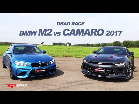 Drag Race BMW M2 vs 2017 Chevrolet Camaro SS Fifty