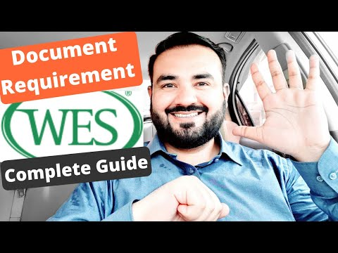 WES Document Requirement & How To Apply For ECA By WES | Complete Guide