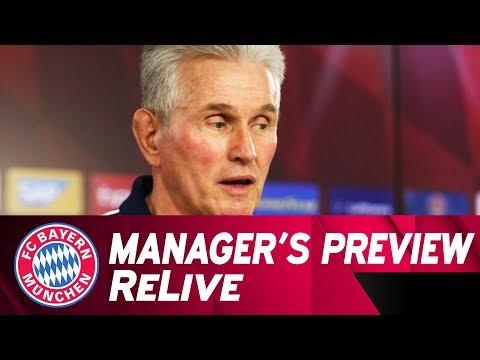 LIVE 🔴   FC Bayern-Pressetalk mit Jupp Heynckes vor Hamburg 🇩🇪