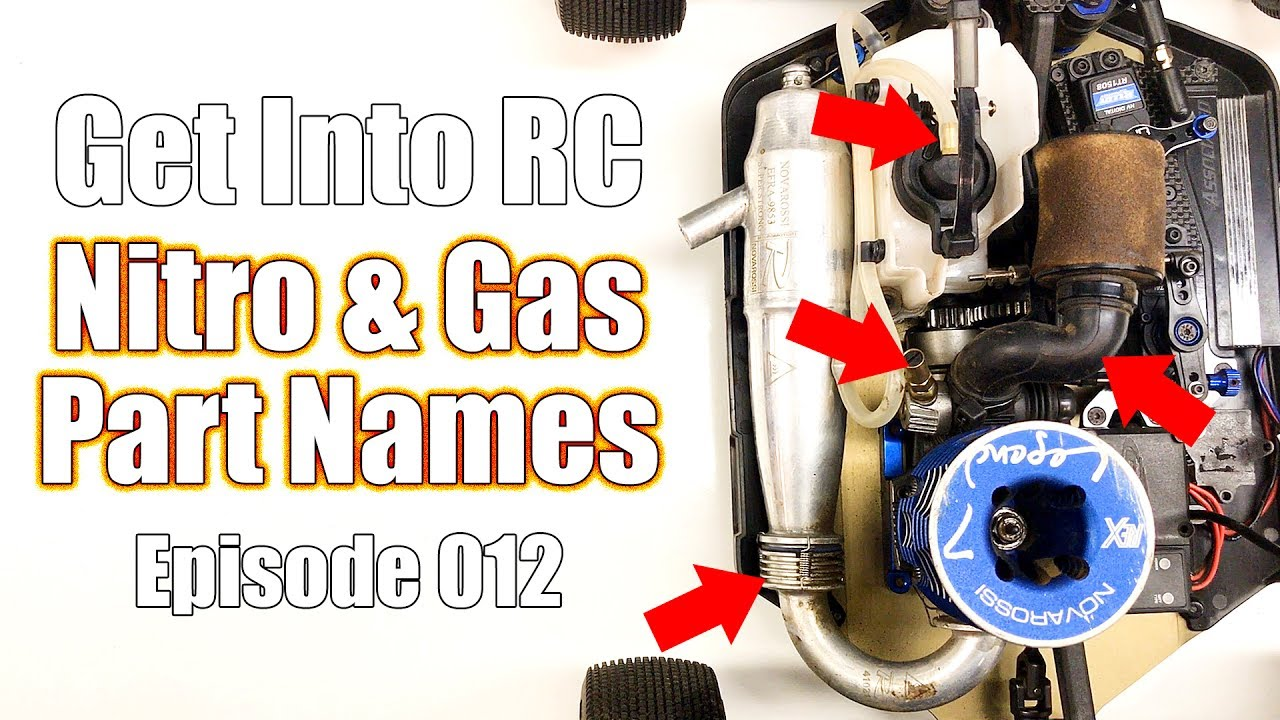know the names of nitro & gas parts - get into rc   rc driver
