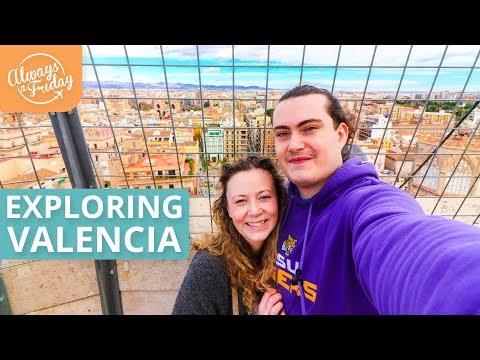 EXPLORING VALENCIA DURING LAS FALLAS FESTIVAL 2018 - MASCLETA, CENTRAL MARKET, CHURROS & MIGUELETE