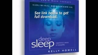 Deep Sleep Pt 1 Experience Peace Tranquility Kelly Howell Brain Sync CD MP3