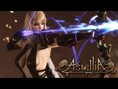Astellia Online (아스텔리아CBT) Character Select Preview UHD4K
