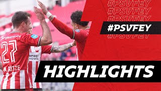 Amazing Assist GÖTZE On MALEN 🤤, But A Disappointing Result..   Highlights PSV - Feyenoord