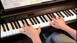 I Knew I Loved You -- Savage Garden -- Piano
