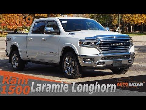 2019 Ram 1500 Laramie Longhorn Redesign видео. Тест Драйв Рам 1500 2019 фейслифт на русском.