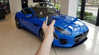 2017 2.0 Litre Jaguar F-Type: In-Depth Exterior and Interior Tour + Start and Revs!