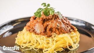 Nick's Zone: Chicken Tikka Masala With Spaghetti Squash