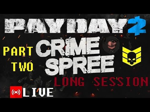 Payday 2 (PART 2) [Infamy XXV-100 Crime Spree] {I was hacked NEVER tell your password to anyone}